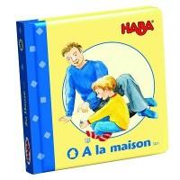 Haba - Livre cartonné - A la maison