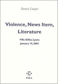 Violence, faits divers, littérature