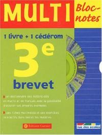 Multi Bloc-notes 3ème (1 CD-Rom inclus)