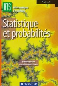 Statistique et probabilités BTS Informatique de gestion