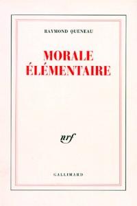 Morale élémentaire