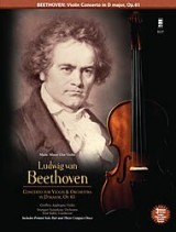 Music Minus One - Ludwig Van Beethoven: Violin Concerto In D Op.61. Partitions, CD pour Violon
