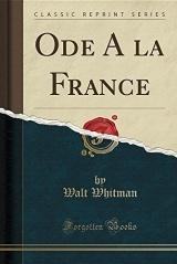Ode a la France (Classic Reprint)