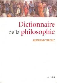 Le dictionnaire de la philosophie