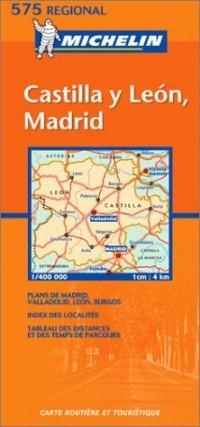 Carte routière : Castilla y Leon, Madrid, N° 11575 (en espagnol)
