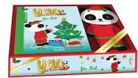 Petit panda fête Noël : Avec une peluche