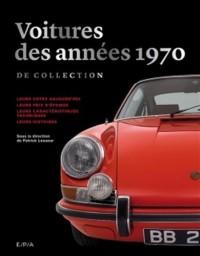 Les voitures de collection des années 70