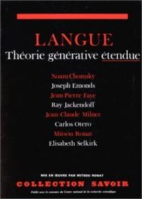 Langue. Théorie générative étendue