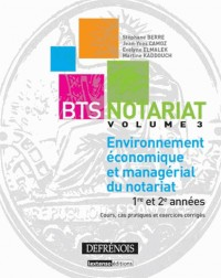 Environnement Economique et Managerial du Notariat T3