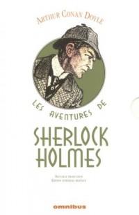 Les aventures de Sherlock Holmes Coffret en 3 volumes
