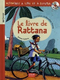 Le livre de Rattana (1CD audio)