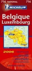 Carte routiere 716 belgique, luxembourg 2006