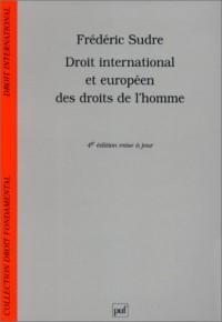 Droit international et européen des droits de l'homme