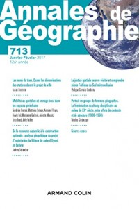 Annales de géographie nº 713 (1/2017) Varia