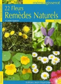 22 fleurs remèdes naturels - memo
