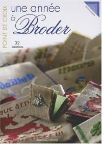 Une année à Broder : Point de croix