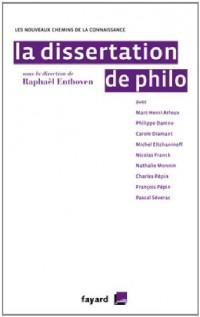 La dissertation de philo