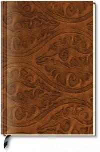 Alpha Edition - Carnet de notes vierge - Cuir embossé (Import Allemagne)