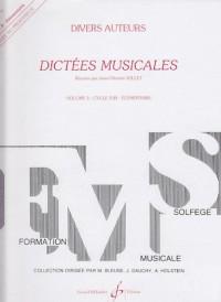Dictées Musicales Volume 3 - Professeur