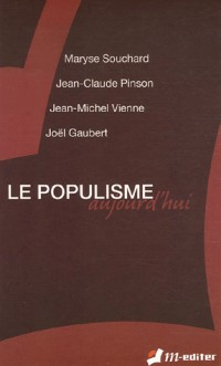 Le populisme aujourd'hui