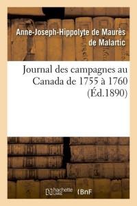 Journal des Campagnes au Canada  ed 1890