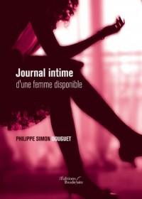Journal intime d'une femme disponible