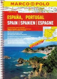 Atlas routier et touristique Espagne, Portugal - Echelle : 1/300 000 - 368 pages de plans, de cartes et d'index