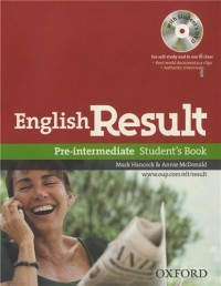 English Result - Pre Intermediate : Student's Book (1DVD)