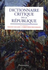 Dictionnaire critique de la République