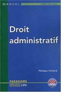 Droit administratif : DEUG Droit/AES