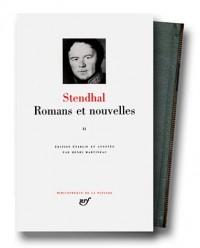 Stendhal : Romans et nouvelles, tome 2
