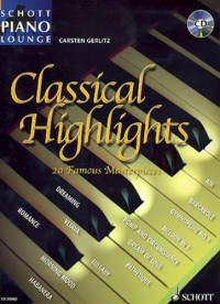 Piano Lounge Collection Classical Highlights +  Cd