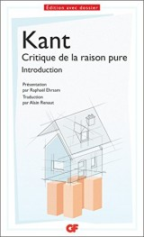 Introduction de la critique de la raison pure [Poche]