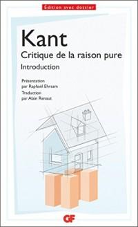 Introduction de la critique de la raison pure