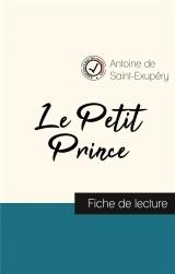 Le Petit Prince de Saint-Exupéry (fiche de lecture et analyse complète de l'oeuvre)