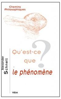 Qu'est-ce que le phénomène?