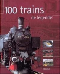 100 trains de légende