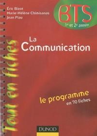 La communication BTS 1re et 2e années