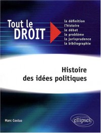 Histoire Des Idees Politiques Tout Le Droit