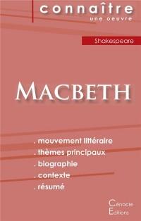 Fiche de Lecture Macbeth de Shakespeare Analyse Litteraire de Reference et Resum