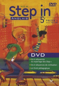 New Step in - Anglais Cinquième ed. 2007, Palier 1 Niveau A1+ / A2, DVD