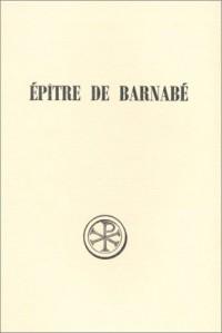 Epître de Barnabé