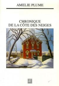 Chronique de la Côte des Neiges