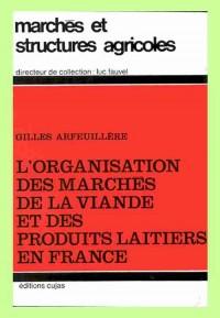 L'Organisation des marchés de la viande et des produits laitiers en France