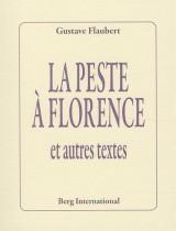 La peste à Florence : Et autres textes [Poche]