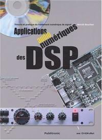 Applications audionumériques des DSP : Théorie et pratique du traitement numérique du son (1 livre + 1CD-Rom)