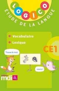 Pochette Logico Vocabulaire - Lexique CE1