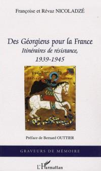 Des Géorgiens pour la France