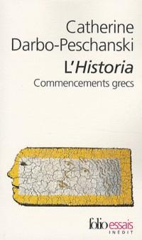 L'Historia : Commencements grecs
