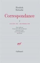 Correspondance (Tome 5)